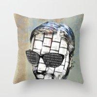 R.K.PRINT Throw Pillow