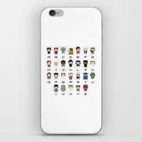Doctor Who Alphabet iPhone & iPod Skin