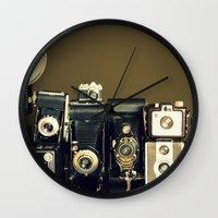 Vintage Camera Collectio… Wall Clock