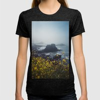 Yaquina Head Womens Fitted Tee Tri-Black SMALL