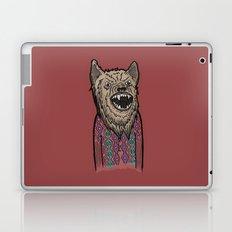 Hipster Wolf Laptop & iPad Skin