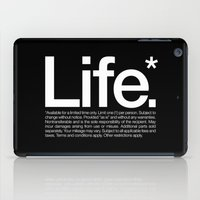 Life.* Available For A L… iPad Case