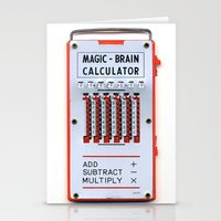 Magic Brain Stationery Cards