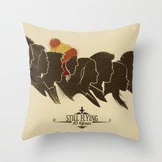 Still Flying Throw Pillow
