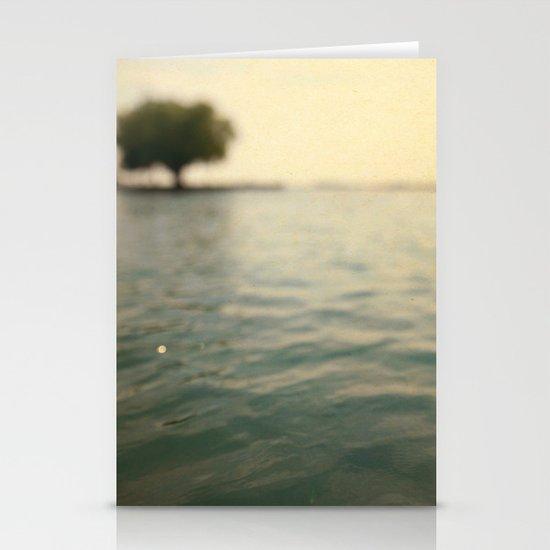 Sea Level Stationery Card