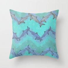 Sharkron Throw Pillow