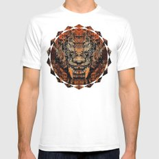 Saber Tooth SMALL Mens Fitted Tee White