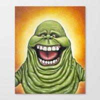 Ugly Spud - Slimer Canvas Print