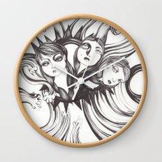 Caída al vacío Wall Clock