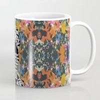 ZNH - If You Are Silent - Black Lives Matter - Series - Black Voices - Floral  Mug