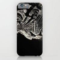 iPhone & iPod Case featuring The Magnificent (Tiger) by Nathan Cole