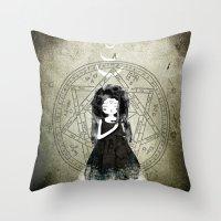 Moonchild Throw Pillow