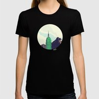 For Julia - NYC Womens Fitted Tee Black SMALL