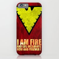 iPhone & iPod Case featuring X-Men: Dark Phoenix - I am fire and life incarnate by Itomi Bhaa
