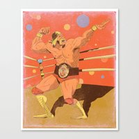 The Hulkster! Canvas Print