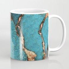 AQUA & GOLD GEMSTONE Mug