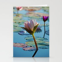 Lotus Blossom Flower 13 Stationery Cards
