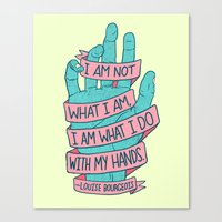 What I Am Canvas Print