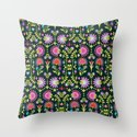 Folkloric 1 Throw Pillow