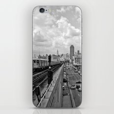 New York From the Seven Train iPhone & iPod Skin