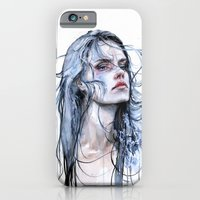 iPhone & iPod Case featuring obstinate impasse by agnes-cecile
