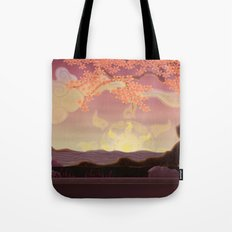 Chinese landscape Tote Bag
