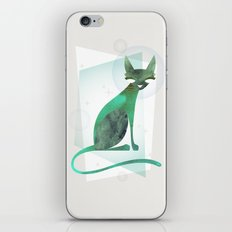 Mid-Century Feline iPhone & iPod Skin