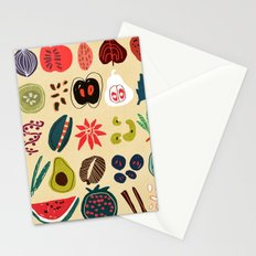 Fruit and Spice Rack Stationery Cards