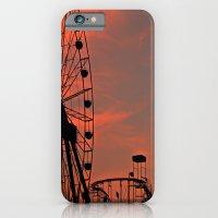Sundown in Fun Town iPhone 6 Slim Case