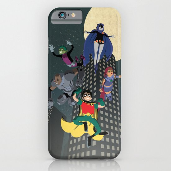 Teen Titans iPhone & iPod Case
