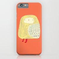 Cute Owl. owl art, owl illustration, owl print, owl decor, nature,  iPhone 6 Slim Case