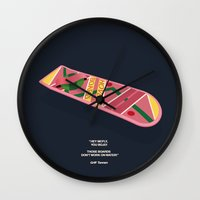 Back To The Future Part … Wall Clock