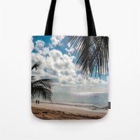Couple At The Beach Tote Bag