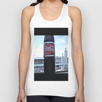 Industrial Coke Unisex Tank Top