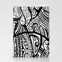 Abstractish 1  Stationery Cards