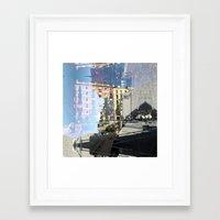 Summer space, smelting selves, simmer shimmers. 06 Framed Art Print