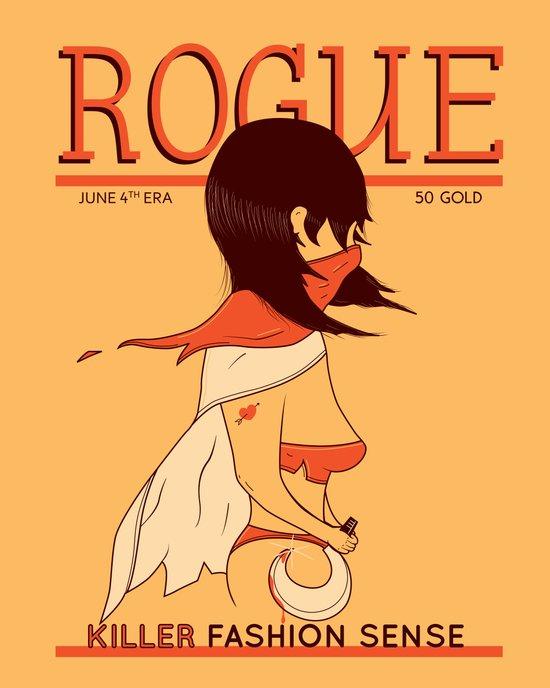ROGUE Magazine - June 4th Era Art Print