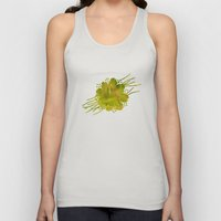 Moss germ, Alone in a green Land Unisex Tank Top