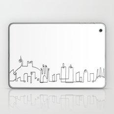 Barcelona skyline Laptop & iPad Skin