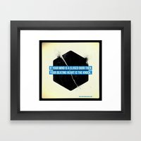 Endless Knock Framed Art Print