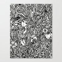 Flora #5 Canvas Print