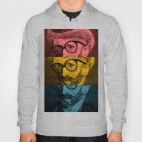 Hipster Van Gogh Hoody