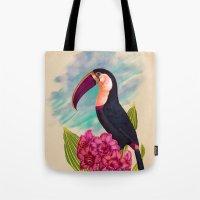Mr. Toucan Tote Bag