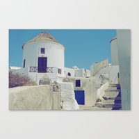 Windmill House III Canvas Print
