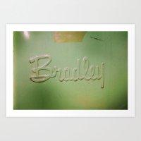 Bradley Art Print