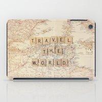 travel the world iPad Case