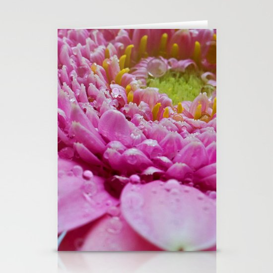 Gerbera in Pink Stationery Card