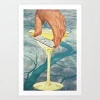 Drop the Sink & Fix Me a Drink Art Print