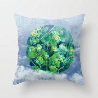 Little Planet #01 Throw Pillow