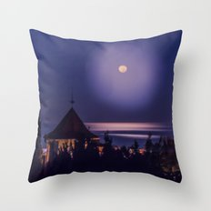 Magic Night Throw Pillow